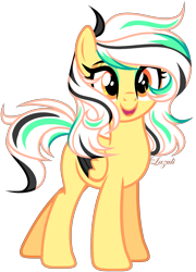 Size: 1287x1788   Tagged: safe, artist:lazuli, oc, oc only, pegasus, pony, commission, derpibooru import, eyelashes, open mouth, pegasus oc, signature, simple background, smiling, solo, transparent background, two toned wings, wings, ych result