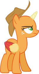 Size: 981x1863   Tagged: safe, artist:pegasski, alicorn oc, oc, oc only, alicorn, pony, horse play, bald, base, derpibooru import, eyelashes, freckles, frown, hat, horn, looking up, simple background, solo, transparent background, two toned wings, wings