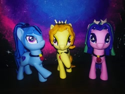 Size: 1080x810   Tagged: safe, artist:rxndxm.artist, derpibooru import, adagio dazzle, aria blaze, sonata dusk, pony, equestria girls ponified, female, hooves to the chest, irl, jewelry, mare, necklace, photo, plushie, ponified, the dazzlings