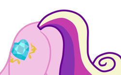 Size: 1194x747 | Tagged: safe, artist:gmaplay, derpibooru import, princess cadance, alicorn, pony, ass, ass up, butt, butt only, face down ass up, lovebutt, pictures of butts, simple background, solo, transparent background