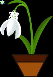 Size: 1163x1699 | Tagged: safe, artist:starlinesparkle896, derpibooru import, no pony, simple background, snow, snowdrop (flower), snowflake, solo, transparent background