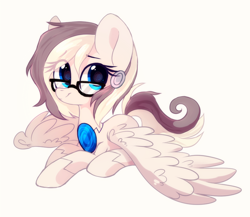 Size: 2148x1861 | Tagged: safe, artist:mirtash, oc, oc only, pony, glasses, rcf community, simple background, solo, white background