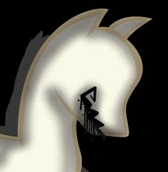 Size: 1936x1980   Tagged: safe, alternate version, artist:amgiwolf, derpibooru import, oc, oc only, pony, background removed, bust, mannequin, simple background, solo, transparent background