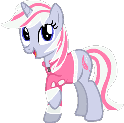Size: 483x481 | Tagged: safe, artist:pegasski, derpibooru import, oc, oc only, pony, unicorn, base used, clothes, eyelashes, horn, looking up, open mouth, raised hoof, simple background, smiling, solo, transparent background, unicorn oc, vector