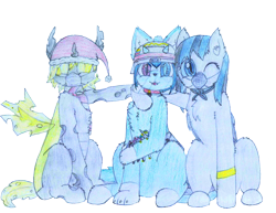 Size: 2196x1696 | Tagged: safe, artist:fliegerfausttop47, derpibooru exclusive, derpibooru import, edit, king sombra, nurse redheart, princess celestia, oc, oc only, bat pony, cat, cat pony, changeling, hybrid, original species, pony, unicorn, 2021 community collab, arm fluff, asexual, asexual pride flag, asexuality, bandana, bat pony oc, bat wings, blind eye, bracelet, cat ears, central heterochromia, changeling oc, cheek fluff, chest fluff, christmas, claws, clothes, coronavirus, covid-19, cute, cute little fangs, derpibooru community collaboration, drawing, ear fluff, ears, electricity, electricity magic, face mask, fangs, female, femboy, first time, fluffy, fluffy changeling, golden eyes, happy, hat, helmet, heterochromia, holiday, holster, hug, jewelry, leg fluff, looking at you, male, mask, ocbetes, paws, pencil, pet tag, pet tags, plushie, pride, pride flag, santa hat, scarf, shoulder fluff, simple background, sitting, smiling, sniper, tail, tongue out, toy, traditional art, traditional drawing, transparent background, venezuela, visor, wall of tags, wings, yellow changeling