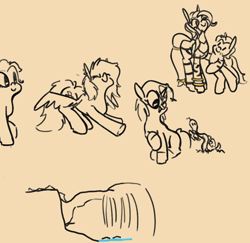 Size: 874x850   Tagged: safe, artist:cammy, snake, zebra, foal, stretching